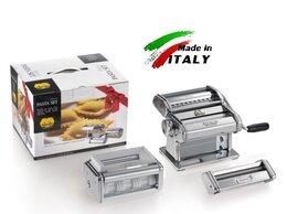 Пельменницы, машинки для пасты и равиоли - Marcato Classic Pasta Set 150 лапшерезка -…, 0