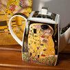"""Чайник заварочный Климт """"Поцелуй"""" по цене 2500₽ - Заварочные чайники, фото 2"""