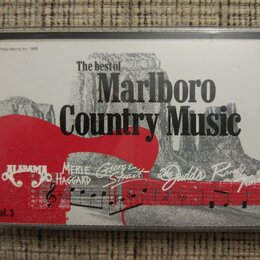 Музыкальные CD и аудиокассеты - Аудиокассета The Best Of Marlboro Country Music Vol. 3, 0