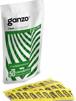 Презервативы - Ультратонкие презервативы Ganzo Ultra thin - 50…, 0