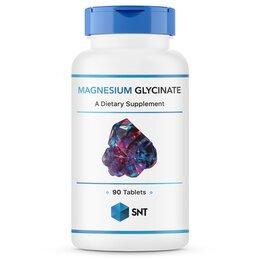 Настольные игры - Magnesium Glycinate 90 таблеток Магний SNT, 0