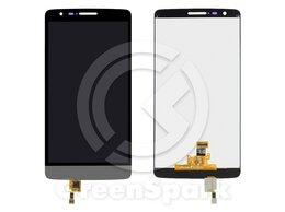 Дисплеи и тачскрины - Дисплей для LG G3s D724/D725 +тач серый, 0