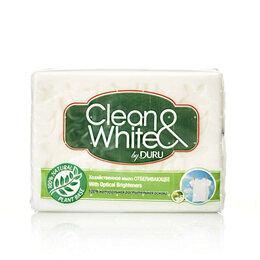 """Бытовая химия - Хоз. мыло Duru """"Clean&White"""" отбеливающее, 0"""