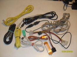 Компьютерные кабели, разъемы, переходники - Кабели разные +HDMI +DVI-DVI, 0