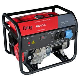 Электрогенераторы - Генератор бензиновый Fubag BS 6600 838797, 0