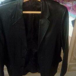 Пиджаки - Продается кожаный пиджак, 0
