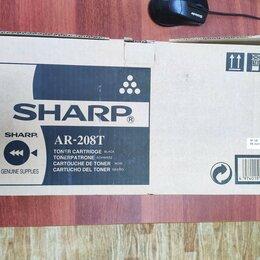 Картриджи - Оригинальный Картридж Sharp AR208T Черный (Black), 0