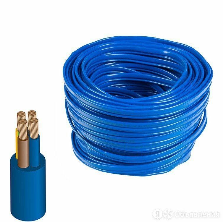 Провод водопогружной КВВ 3х2,5 по цене 192₽ - Кабели и провода, фото 0