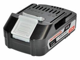 Аккумуляторы и зарядные устройства - Аккумуляторный блок АПИ 2А/ч, 18В, Li-ion…, 0