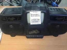 Музыкальные центры,  магнитофоны, магнитолы - Магнитофон+тв HT-555A, 0