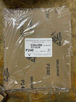 Прочие штукатурно-отделочные инструменты -  Шлифшкурка лист Р 240 230х280 КТ10CW БАЗ, 0
