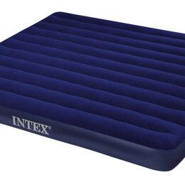 Надувная мебель - Надувной матрас Intex 183*203*22, 68755, 0