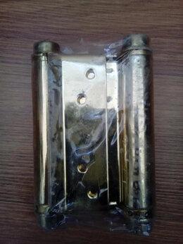 Петли дверные - Петля пружинная двусторонняя (100*70*1.5), 0
