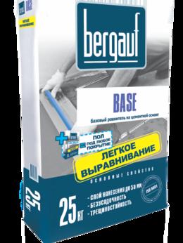 Строительные смеси и сыпучие материалы - Наливной пол Bergauf Base 6-50 мм, 25 кг, 0