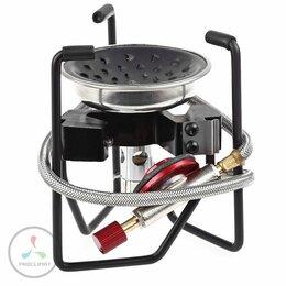 Туристические горелки и плитки - Горелка газовая ECOS CS-G18 Black spider, 0
