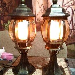 Уличное освещение - Светильники напольные с эффектом пламени, 0