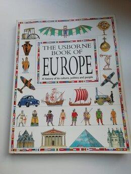 Литература на иностранных языках - Книга THE USBORNE BOOK OF EUROPE , 0