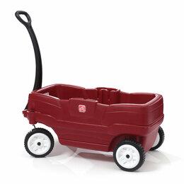 Машинки и техника - Детская каталка для двоих «Соседи», 0
