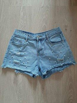 Шорты - Шорты джинсовые, 0