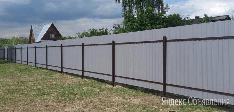 Забор из профлиста по цене 2400₽ - Готовые строения, фото 0