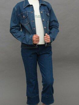 Джинсы - костюм джинсовый тройка, 0