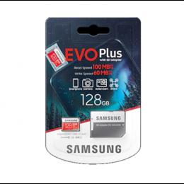 Карты памяти - Карта памяти Samsung EVO Plus MB-MC128HA / RU 128 Гб UHS-I Class 3, 0