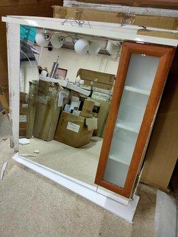 Зеркала - Итальянское большое зеркало 80*110 со шкафчиками…, 0
