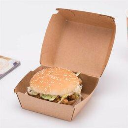 Упаковочные материалы - Распродажа Коробка для бургера крафт Eco Burger…, 0