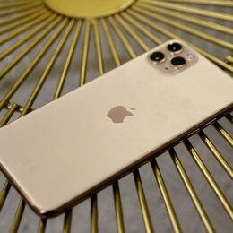 Мобильные телефоны - iPhone 11 Pro Max Gold 256gb новые Ростест, 0