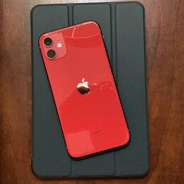 Мобильные телефоны - iPhone 11 Red 64gb новые Ростест, 0