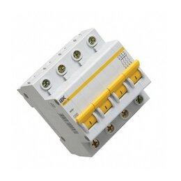 Защитная автоматика - Автоматический выключатель 4Р 10А IEK ва47-29, 0