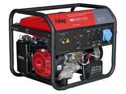 Электрогенераторы - Генератор бензиновый Fubag BS 5500 A ES 838796, 0