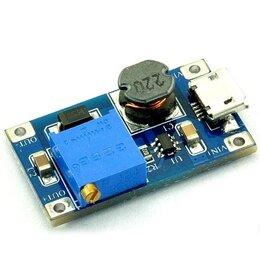 Источники бесперебойного питания, сетевые фильтры - Повышающий преобразователь напряжения с Micro USB, 0