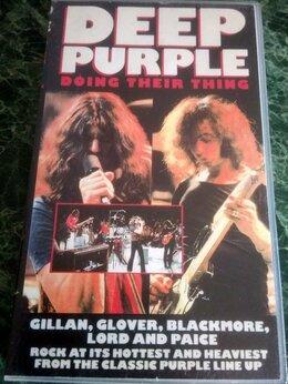Музыкальные CD и аудиокассеты - VHS – DEEP PURPLE – Doing Their Thing – 1970 /…, 0