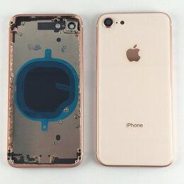 Корпусные детали - Корпус для Apple iPhone 8 золотой, 0
