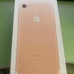 Мобильные телефоны - iphone 7 rose gold 128gb новый запечатанный в пленках, 0