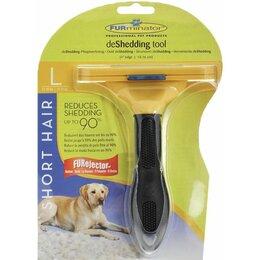 Груминг и уход - Фурминатор (расчёска-триммер) для собак, желтый,…, 0