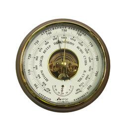 Метеостанции, термометры, барометры - Барометр Утес БТК-СН-16 с открытой белой шкалой, 0