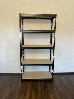 Стеллажи и этажерки - Стеллаж металлический с настилом ДСП (170 кг на…, 0