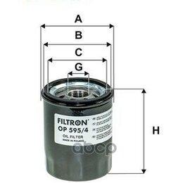 Двигатель и комплектующие - Фильтр Масляный Filtron арт. OP5954, 0