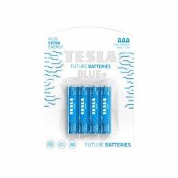 Батарейки - Батарейки Tesla AAA Blue+ 4 шт, 0