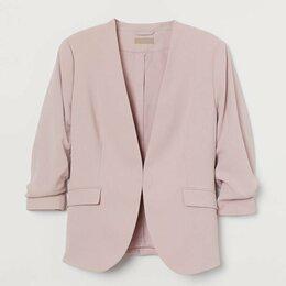 Жакеты - HM+ 3XL летний женский пиджак жакет на подкладке 62-64 большой размер, 0