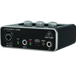 Звуковые карты - BEHRINGER UM2 Внешняя звуковая карта USB, 0