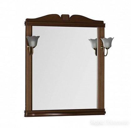 Зеркало Aquanet Николь 80 орех по цене 9813₽ - Зеркала, фото 0