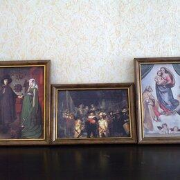 Картины, постеры, гобелены, панно - Репродукции картин на тканевой основе, 0
