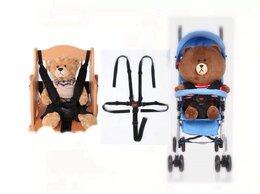 Аксессуары для колясок и автокресел - Новый комплект универсальных ремней с замком (черн, 0