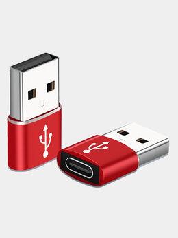 Зарядные устройства и адаптеры - Переходник type C 3.0 на USB 3.0, 0