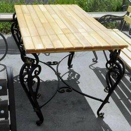 Столы - Стол садовый (дачный) кованый СтФл, 0