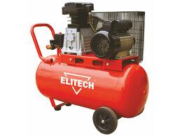 Воздушные компрессоры - Компрессор масляный ремен. Elitech КПР 100/360/2.2, 0