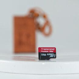 Карты памяти -  Карта памяти Transcend Premium microSDXC 64 Гб, 0